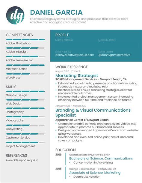 Creative Marketing Resume by Creative Marketing Resume Repost Resumes