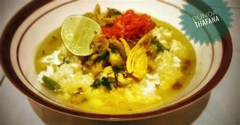 resep soto surabaya enak  sederhana cookpad