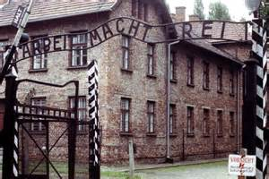 Auschwitz Concentration Camp Front Gate