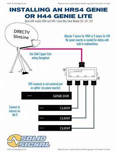 Directv Genie Hook Up Diagram