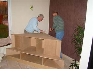 Créer Son Canapé Sur Mesure : notre meuble tv les cr as de sylvie ~ Dode.kayakingforconservation.com Idées de Décoration