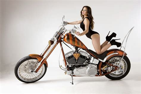 Chopper Motorbike Custom Bike Motorcycle Hot Rod Rods
