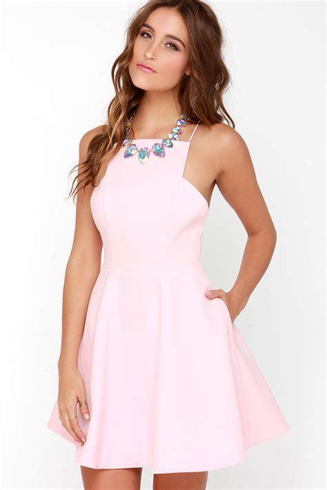 Light Pink Dress by Keepsake Restless Pretty Light Pink Dress Pink