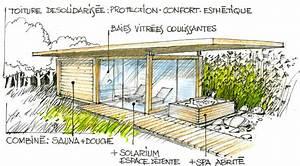 l39esprit lenia lenia abri de voiture carport abri de With sauna de jardin en bois