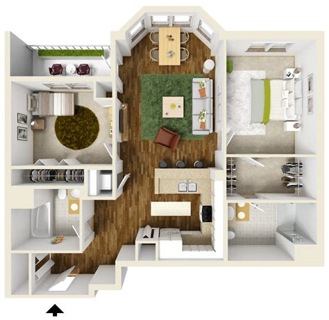 bedroom apartment floor plans queset commons