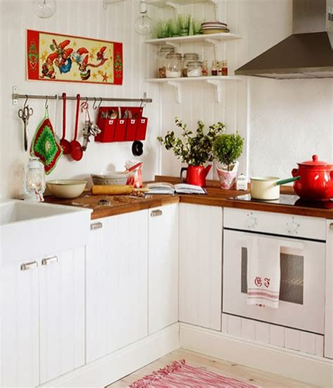 photos of country kitchens 北欧キッチンの飾り方 キッチンカウンターのデコレーション 北欧インテリア 7423