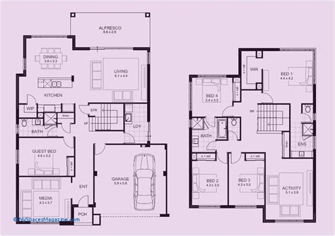 75 New 4 Bedroom House Plans Pdf