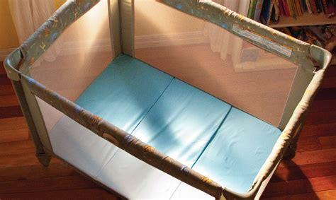 pack and play mattress smart play yard mattress topper mamadoo