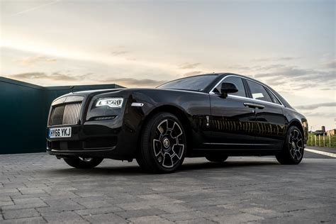 Rolls Royce Badge by Disappearing Act In The Rolls Royce Black Badge Ghost Mr