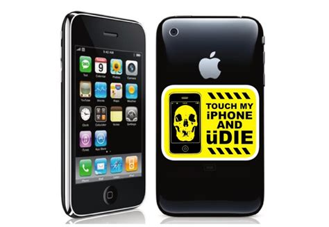 iphone warning streetfx motorsport and graphics touch iphone die
