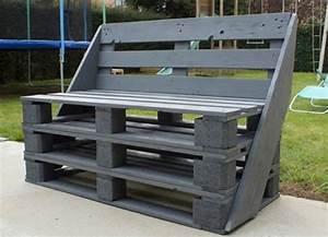 1001 idees pour fabriquer un banc en palette charmant for Formation decorateur interieur avec canape convertible couchage quotidien 160x200