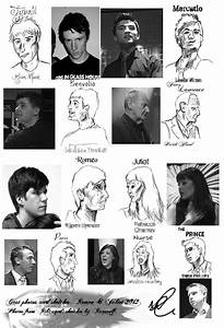 Ribcagedu002639s Romeo And Juliet Character Sketches By Just