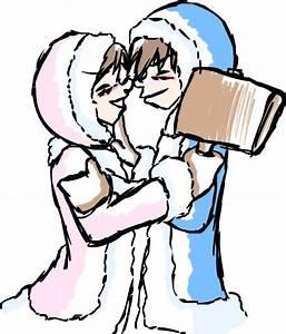 Eskimo Kiss by chikisingergrl on deviantART