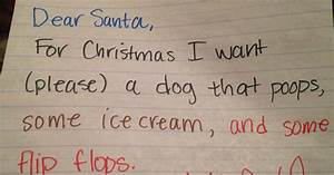 you are going to crack up after reading these funny With letters written by santa