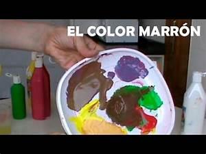 mezclar, colores, , el, marr, u00f3n, , c, u00f3mo, conseguir, diferentes