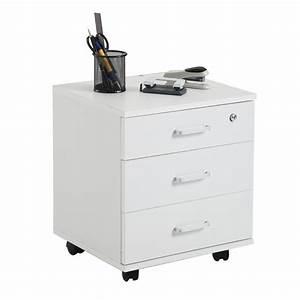 Caisson Rangement Bureau : caisson de bureau rangement sur roulettes 3 tiroirs 3 coloris disponibles ebay ~ Teatrodelosmanantiales.com Idées de Décoration
