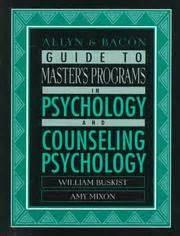allyn bacon guide  masters programs  psychology
