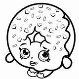 Donut Coloring Pages Shopkins Printable Shopkin Emoji Cat Disney Nl Van Lish Books Categories Similar Voor Princess Leukvoorkids sketch template