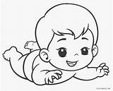 Coloring Baby Pages Babies Printable sketch template