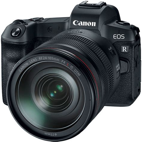Eos Digital Canon by Canon Eos R Mirrorless Digital With 24 105mm Lens
