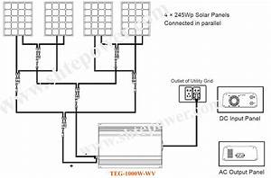 grid tie inverters 1500w grid tie pv inverter 15kw grid With 48v dc solar battery wiring diagrams