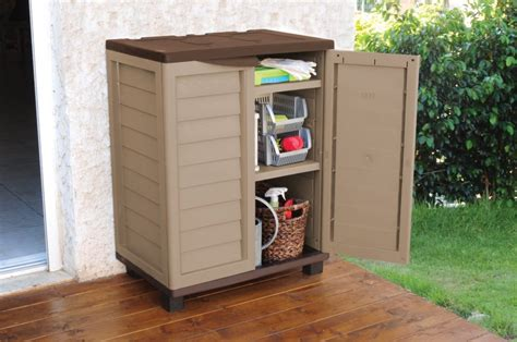 outdoor patio storage cabinet weatherproof outside storage cabinets for your garden