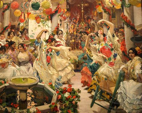 seville the dance mural painting vision of spain 1911