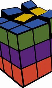 Rubik's cube vector illustration   Free SVG