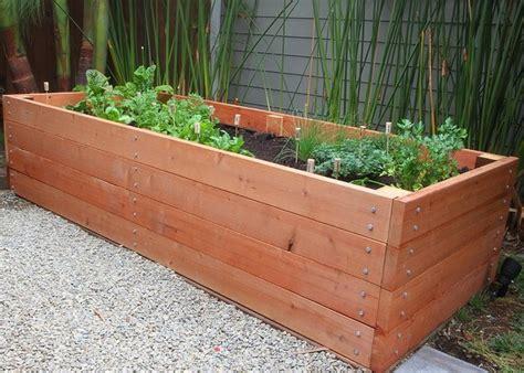 vegetable garden planter box plans ideas home inspirations