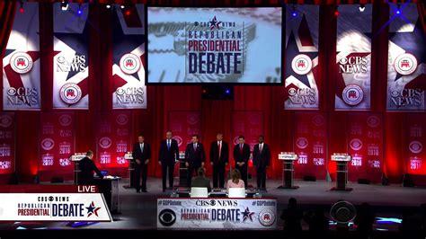 Poll Who Won The Cbs News Republican Debate