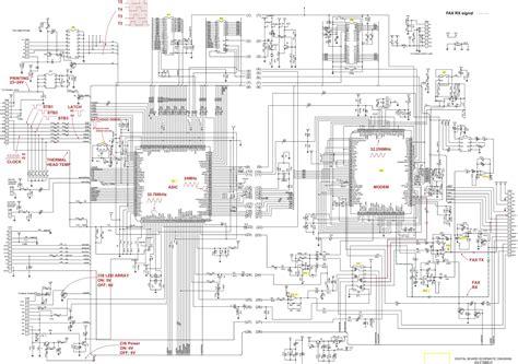 Panasonic Ftbr Power Supply Board Schematic Diagram