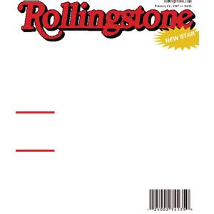 Rolling Magazine Cover Template by Rollingstone Magazine Cover Cool Template Themes On