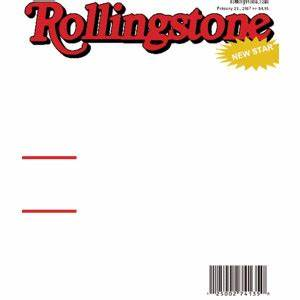 fake rollingstone magazine cover cool template themes on With rolling stone magazine cover template