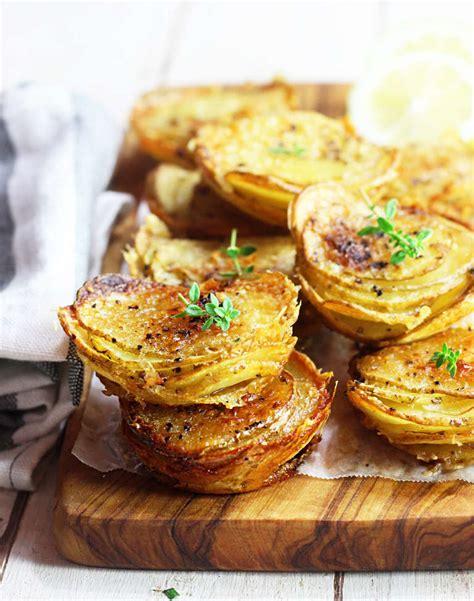 Patate millefoglie farcite   al forno - Cucina Naturale