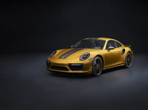 Porsche Exclusive reveal special edition Turbo S - Total 911