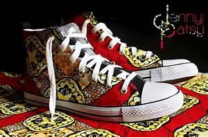 Pagné De Basket : paire de baskets pour homme en wax taille 44 par jennypatsy sur etsy wax shoes pinterest ~ Teatrodelosmanantiales.com Idées de Décoration