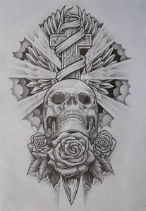 Skull and cross by Stu-mo on DeviantArt