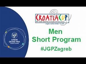2015 ISU Junior Grand Prix - Zagreb Men Short Program ...