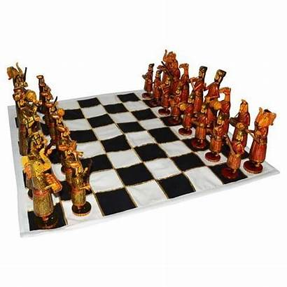 Chess Bone Cloth Board Sets