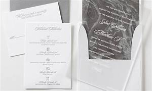 tori matthew allie munroe With frosted paper wedding invitations