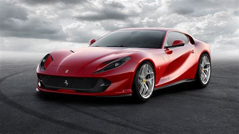 Ferrari Car : 2017 Ferrari 812 Superfast Wallpaper
