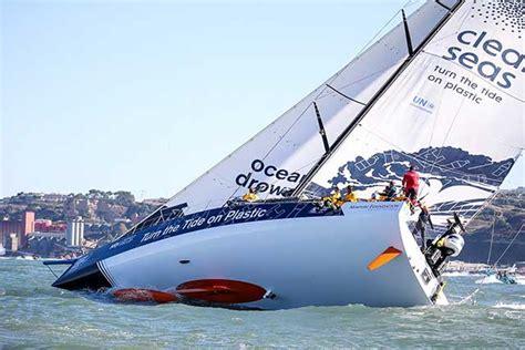 volvo ocean race proas  rumbo al sur  consultacom