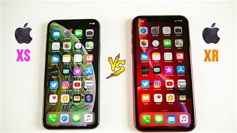 iphone xr vs iphone xs speed test same chip different