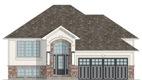 pictures raised bungalow house plans house plans canada stock custom