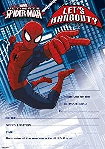 amazoncom pack   marvel ultimate spiderman party