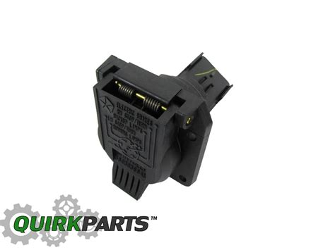 Factory Dodge 3500 Trailer Wiring Connector by 1998 2010 Ram Durango Grand Trailer Wiring 7 Way