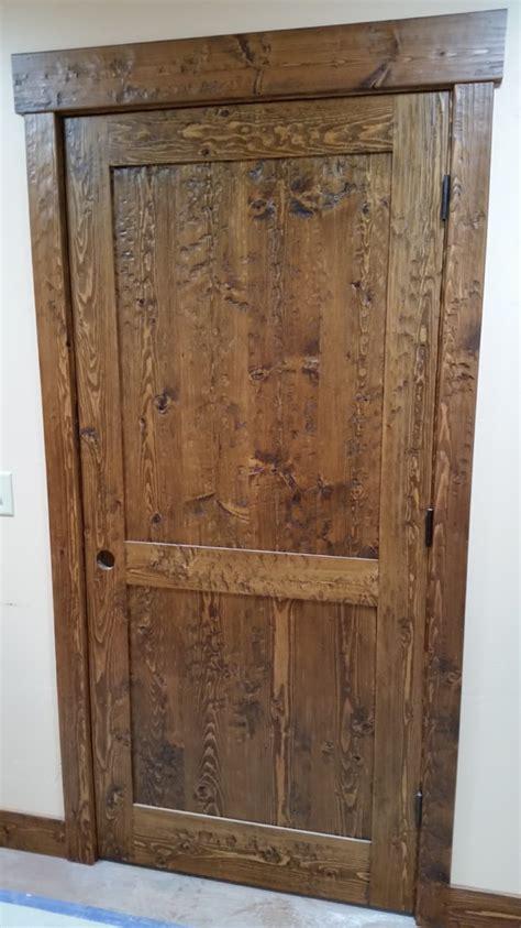 rustic interior doors spaces rustic with distressed wood