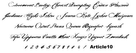 handwriting types hand writing