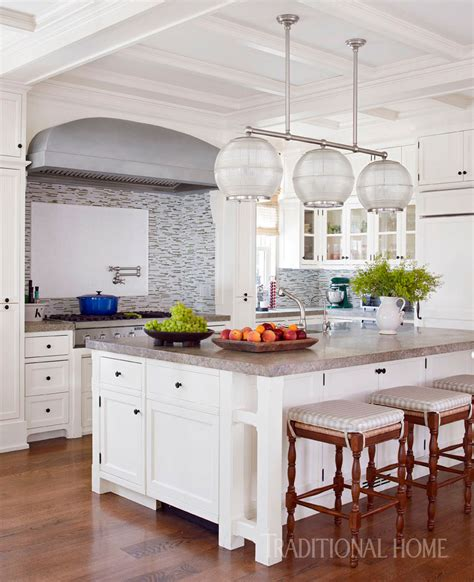 glimmering showhouse kitchen traditional home