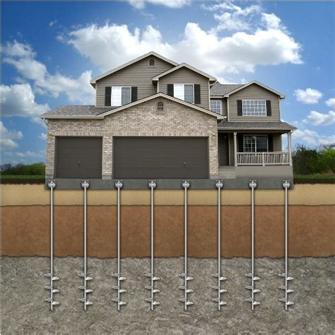 Pier Foundation Design by Helical Piers Foundation And Sinkhole Repair Warranty
